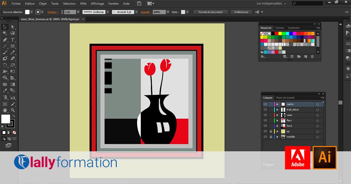 Formation Adobe Illustrator Dakar
