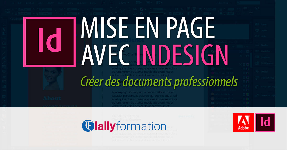 Formation Adobe InDesign Dakar