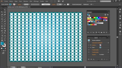 Illustrator CC: Comment créer un joli motif personnalisé sous Illustrator