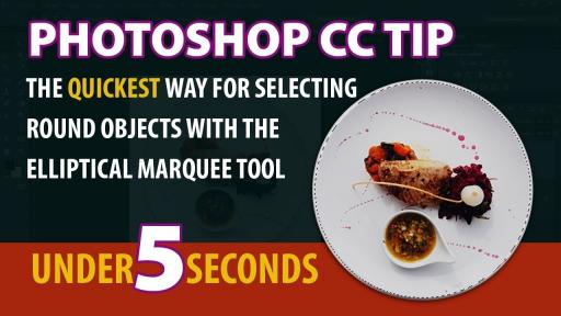 Photoshop Secrets: The easiest way for selecting round objects