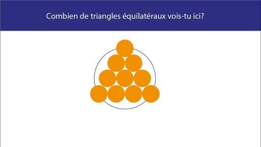 Combien de triangle vois-tu sur cette image ?